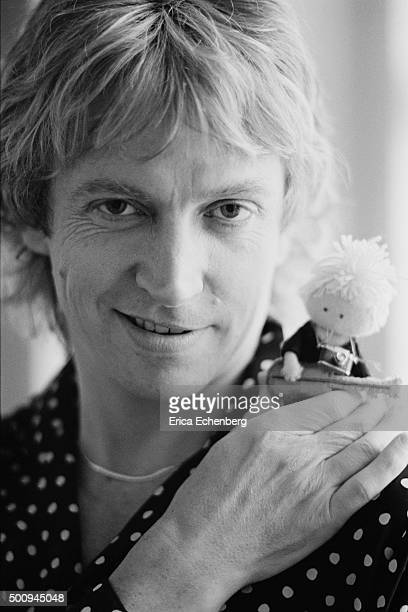 Andy Summers of The Police at home in Putney London United Kingdom 1982