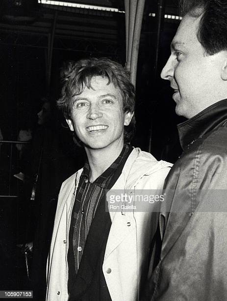 Andy Summers of The Police during Pretty In Pink Los Angleles Premiere at Mann's Chinese Theater in Hollywood California United States