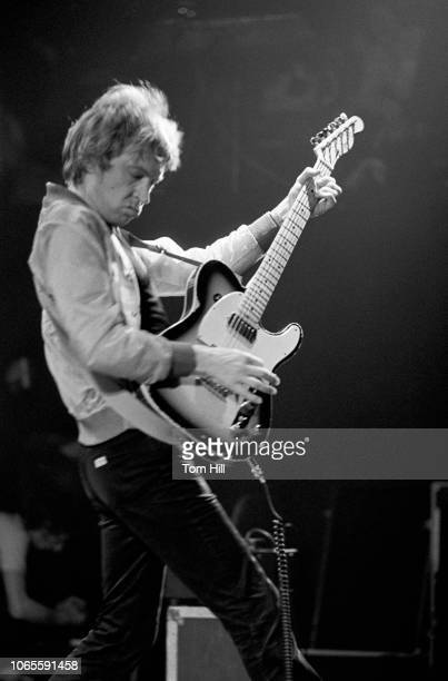Andy Summers of the Police performs at The Agora Ballroom on April 27 1979 in Atlanta Georgia