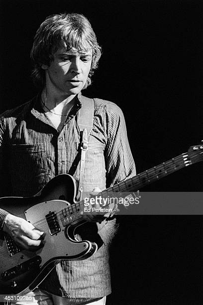 Andy Summers performs with The Police at Zellerbach Auditorium in Berkeley California March 4 1979