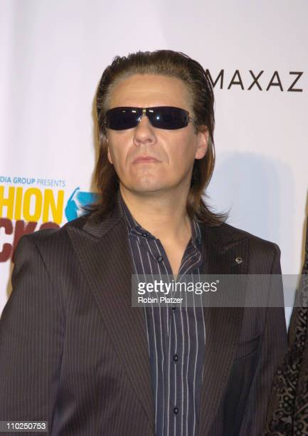 Andy Taylor during 2005 Fashion Rocks Red Carpet at Radio City Music Hall in New York City New York United States