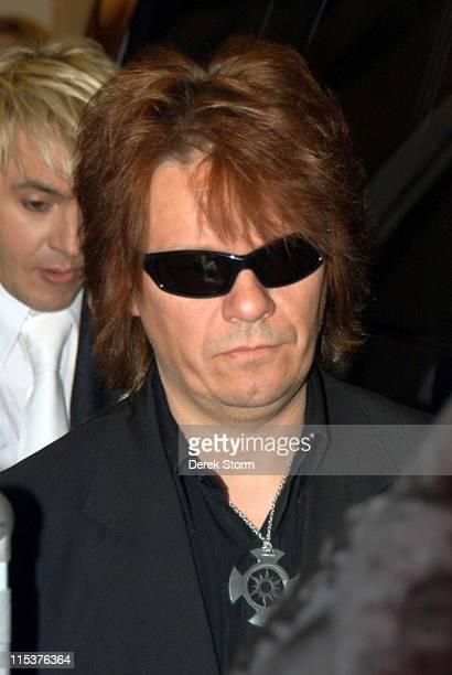 Andy Taylor of Duran Duran during Susan Sarandon Regis Philbin Duran Duran Vern Yip of Trading Spaces at 'Live with Regis And Kelly' October 13 2004...