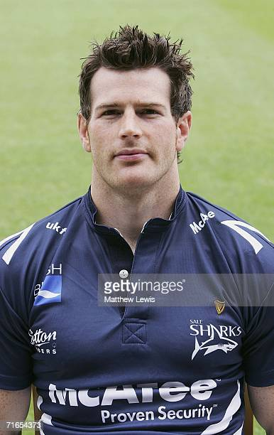 Andy Titterrell of Sale Sharks during the Sale Sharks Media Day at Edgeley Park on August 16, 2006 in Stockport, England.