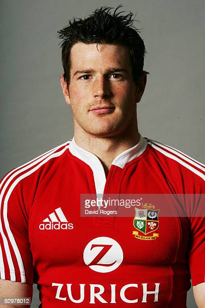 Andy Titterrell pictured during the British and Irish Lions Squad Photocall for the 2005 Tour to New Zealand on April 18 2005 in Cardiff, Wales.