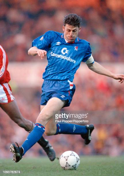 Andy Townsend of Chelsea in action during the Barclays League DIvision One match between Manchester United and Chelsea at Old Trafford on November...
