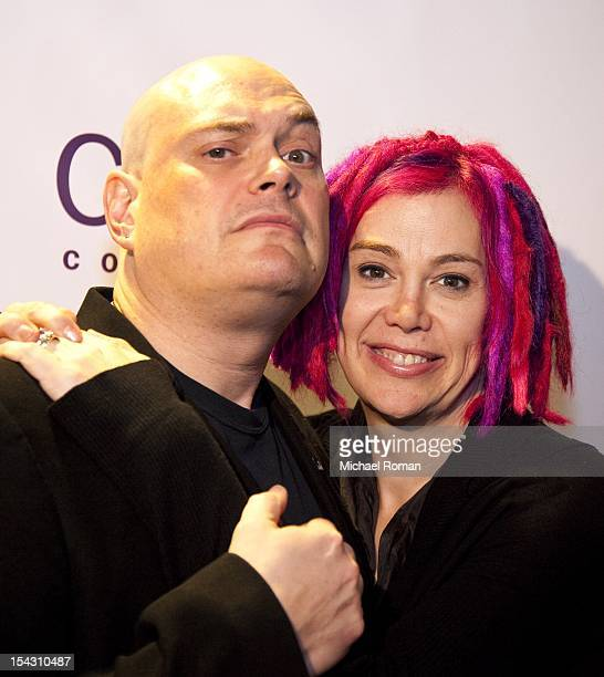 Andy Wachowski and Lana Wachowski attend the Cloud Atlas premiere during the 48th Chicago International Film Festival at the AMC River East 21 movie...