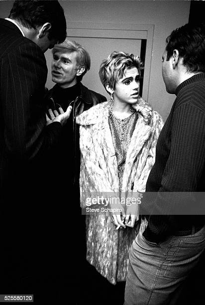 Andy Warhol and Edie Sedgwick at Party