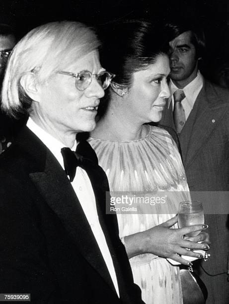 Andy Warhol and Imelda Marcos