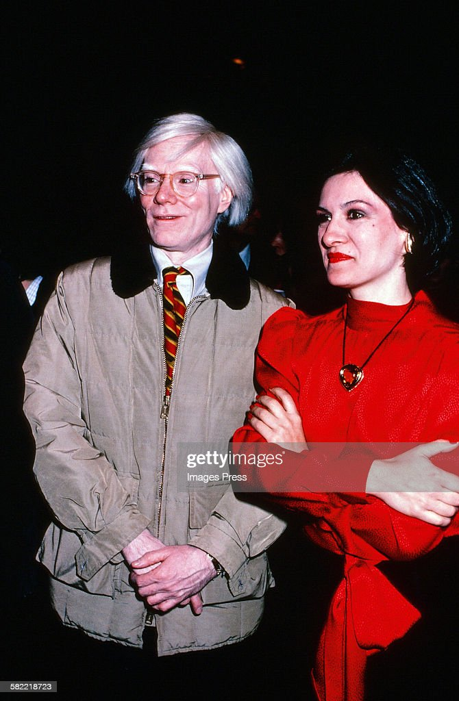 Andy Warhol and Paloma Picasso... : News Photo