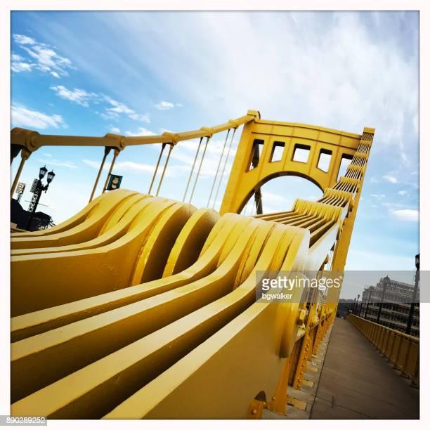 Andy Warhol Bridge in Pittsburgh