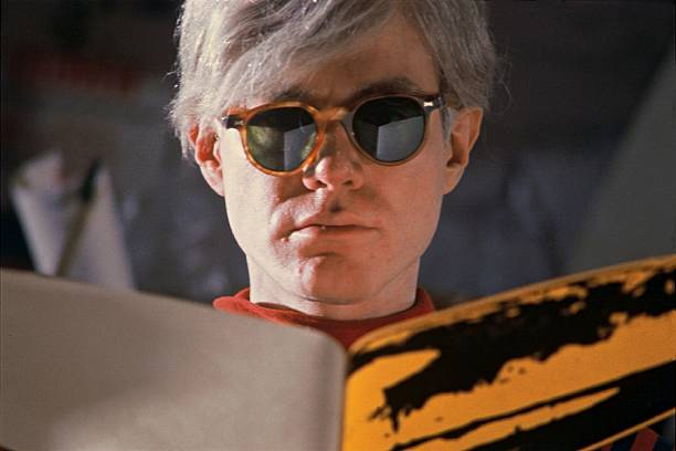 Andy Warhol In New York, United States In 1966 -