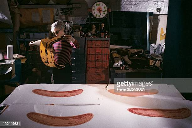 Andy Warhol in New York United States in 1966 Andy Warhol at the Factory Compulsory authorization was asked the ADAGP