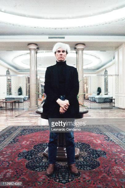 Andy Warhol, Milan, January 1987.