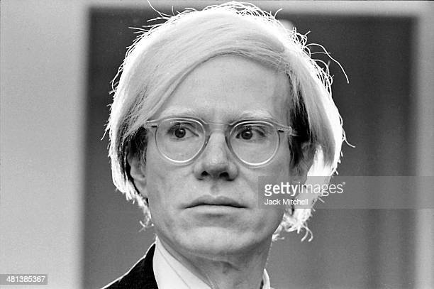 Andy Warhol photographed in 1973