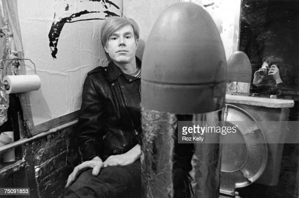 Andy Warhol sits for portrait in New York New York circa 1967