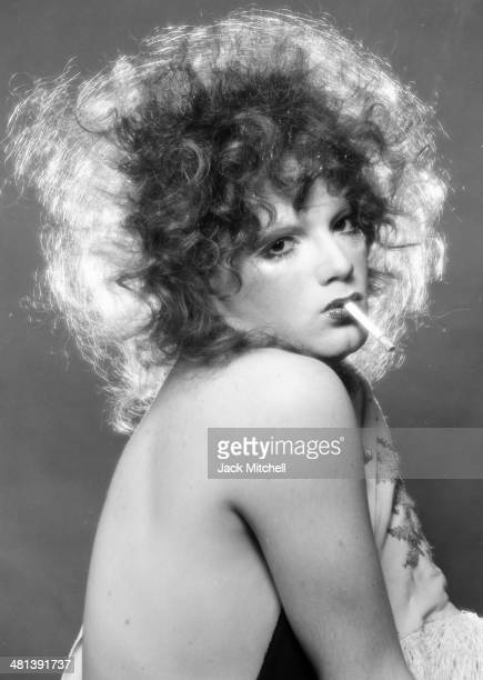 Andy Warhol transvestite Superstar Jackie Curtis photographed in 1970 the year began filming 'Women in Revolt'