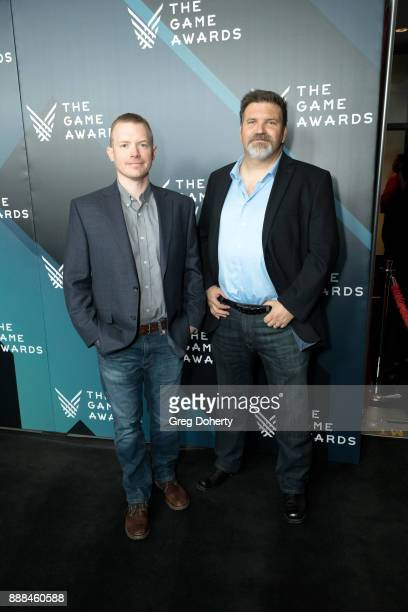 Andy Weatherl and Jeff Litchford attend The Game Awards 2017 at Microsoft Theater on December 7 2017 in Los Angeles California