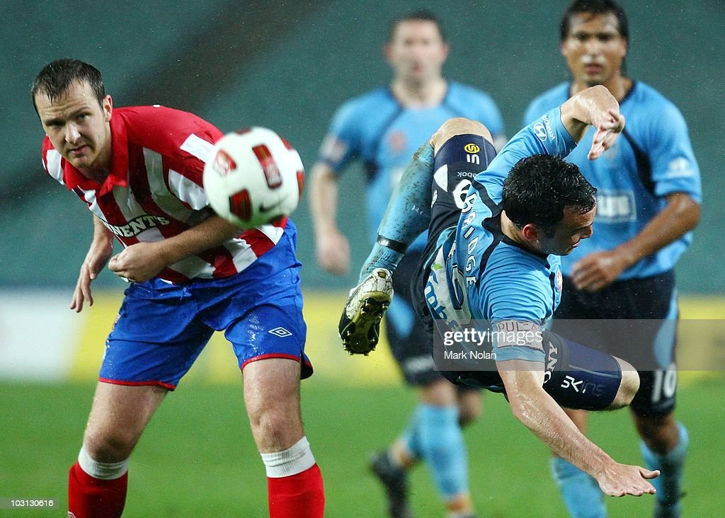 Sydney FC v Glasgow Rangers : News Photo