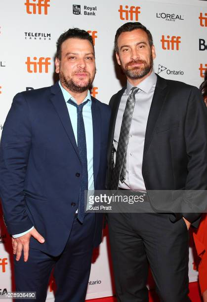 Andy Weiss and Michael J Weiss attends the 'White Boy Rick' premiere during 2018 Toronto International Film Festival at Ryerson Theatre on September...