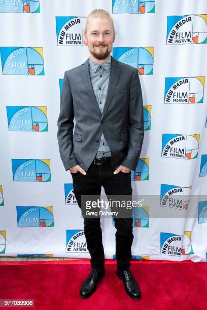 Andy Wenzel attends the 9th Annual New Media Film Festival at James Bridges Theater on June 16 2018 in Los Angeles California