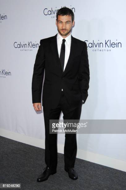 Andy Whitfield attends CALVIN KLEIN COLLECTION LOS ANGELES NOMADIC DIVISION CELEBRATE LA ARTS MONTH ART LOS ANGELES CONTEMPORARY at Los Angeles on...