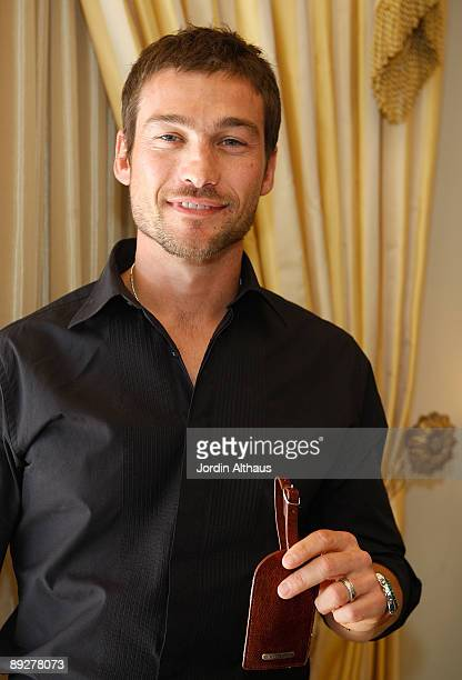 Andy Whitfield attends day 3 of the Haven 2009 Oscar Suite on February 20 2009 in in Los Angeles California