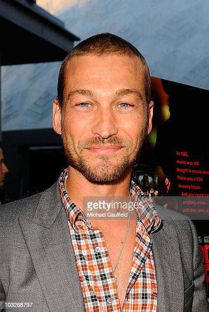 Andy Whitfield attends the Los Angeles premiere of Middlemen held at the ArcLight Cinemas on August 5 2010 in Hollywood California