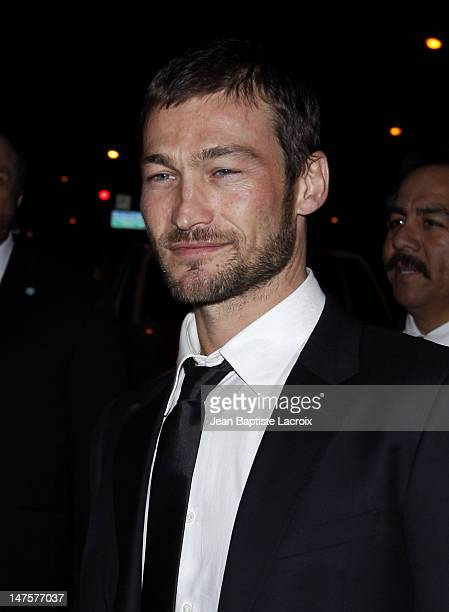 Andy Whitfield is seen in West Hollywood on January 28 2010 in Los Angeles California