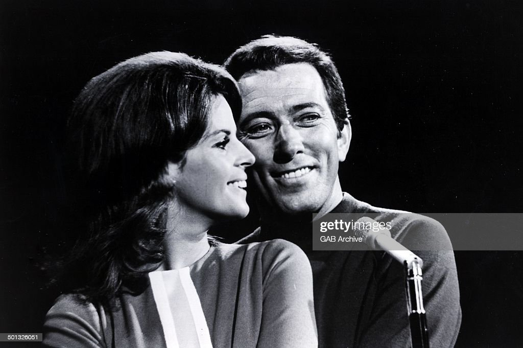 Andy Williams And Claudine Longet : News Photo