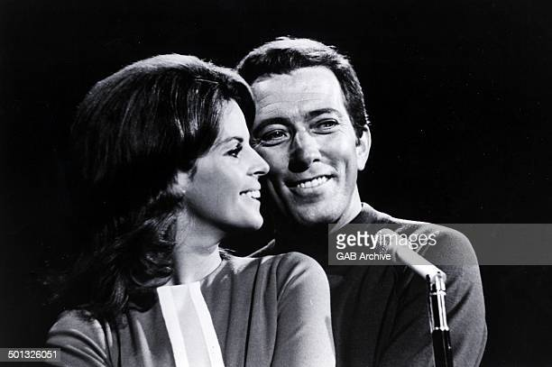 Andy Williams And Claudine Longet portrait circa 1965