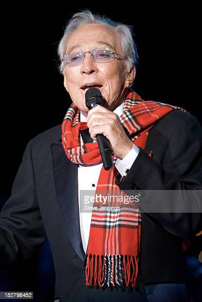 Andy Williams performs in Concert on December 22 2009 in Santa Rosa California
