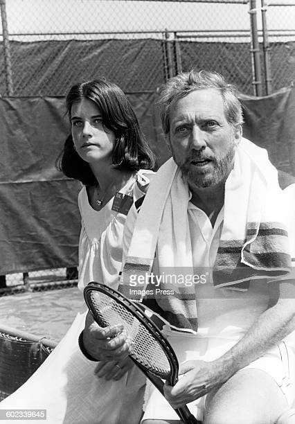 Andy Williams with daughter Noelle circa 1979 in New York City