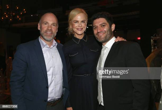 Andy Wright Nicole Kidman and Jake Silverstein at The New York Times Magazine Celebrates 'The Great Performers Issue' 2017 on December 7 2017 in Los...