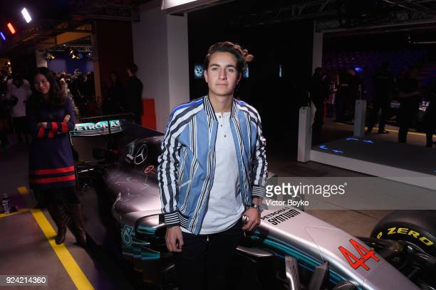 Andy Zurita attends the Tommy Hilfiger Drive Now show during Milan Fashion Week Fall/Winter 2018/19 on February 25 2018 in Milan Italy