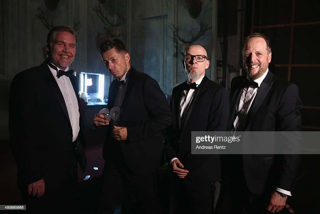 GQ Men Of The Year Award 2015 - Backstage
