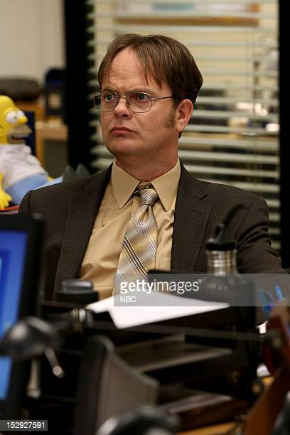 THE OFFICE Andy's Ancestry Episode 903 Pictured Rainn Wilson as Dwight Schrute