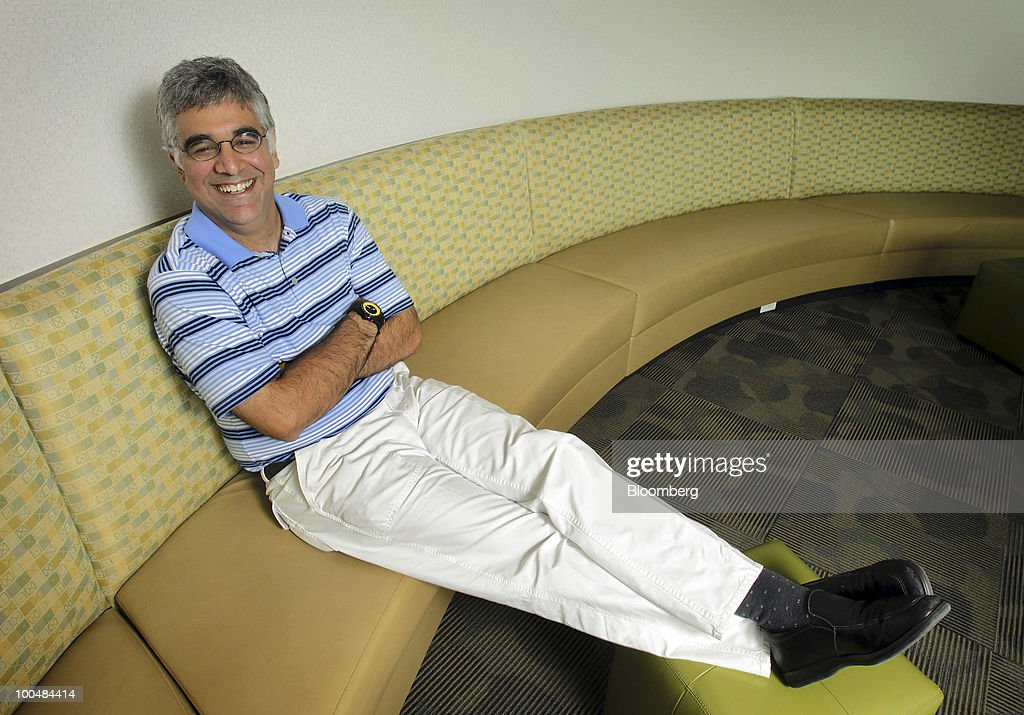 Aneel Bhusri, co-founder and co-chief executive officer of Workday Inc., sits for a photo at company headquarters in Pleasanton, California, U.S., on Friday, May 21, 2010. Workday sells subscriptions to Internet based software that some of the world's largest companies use to manage human resources, payroll, accounting, buying products and sending out orders. Photographer: Tony Avelar/Bloomberg via Getty Images