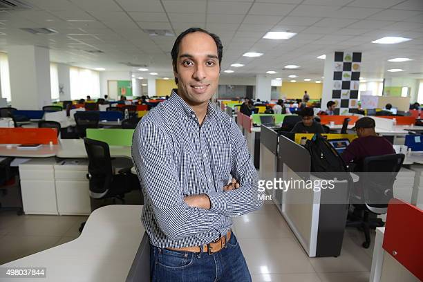 Aneesh Reddy CoFounder Chief Executive Officer Capillary Technologies during an interview on April 6 2015 in Bangalore India