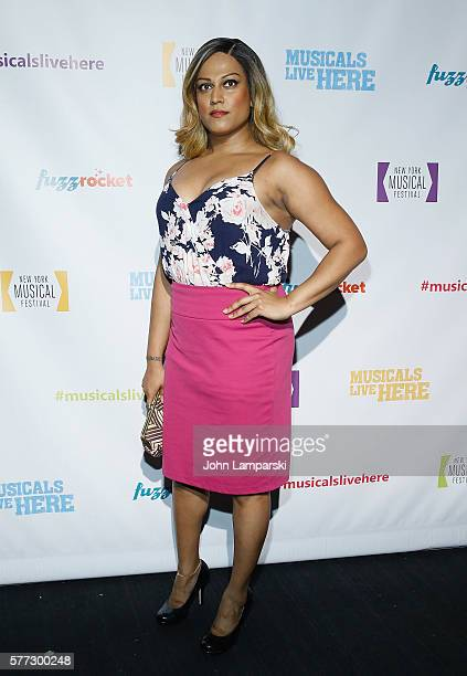Aneesh Sheth attends 2016 New York Musical Festival opening night at 42West on July 18 2016 in New York City