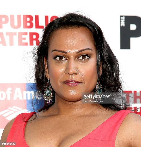 Aneesh Sheth attends the 2016 Public Theater Gala at Delacorte Theater on June 6 2016 in New York City