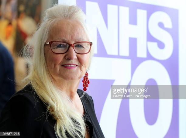 Aneira Thomas the first baby to be born on the NHS following addressing the Unison Health Conference at the Brighton Centre