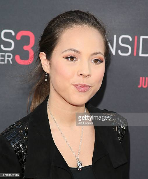 Aneliz Aguilar attends the 'Insidious Chapter 3' Los Angeles Premiere held at TCL Chinese Theatre IMAX on June 4 2015 in Hollywood California