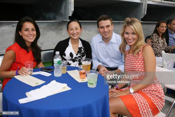 Anella Bokhari Patricia Wanadi Guest and Jenna Herold attend the Randall's Island Sports Foundation Tennis Champions for Children Gala Benefit at...