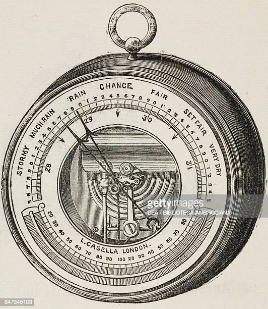 Aneroid Barometer from An illustrated and descriptive catalogue of surveying philosophical mathematical optical photographic and standard...
