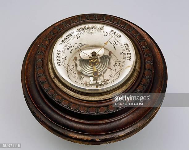 Aneroid barometer United Kingdom 19th century Milan Civico Museo Navale Didattico