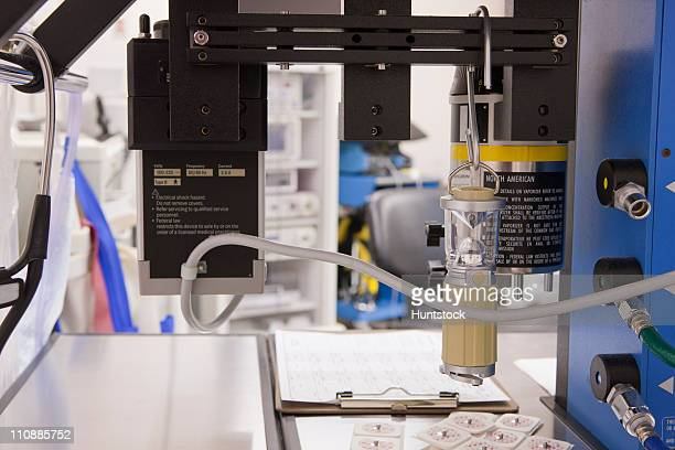 Anesthesia machine for surgery in an operating room