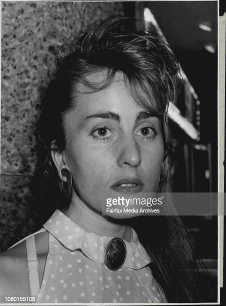 Anet Stuurof 29 of NewtownPeople as they came out of the new movie 'Dogs in Space' Showing at the Hoyts January 15 1986