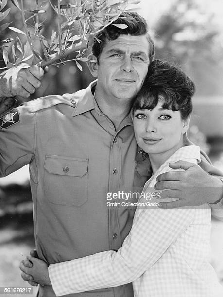Aneta Corsaut and Andy Griffith embracing, November 16, 1964.