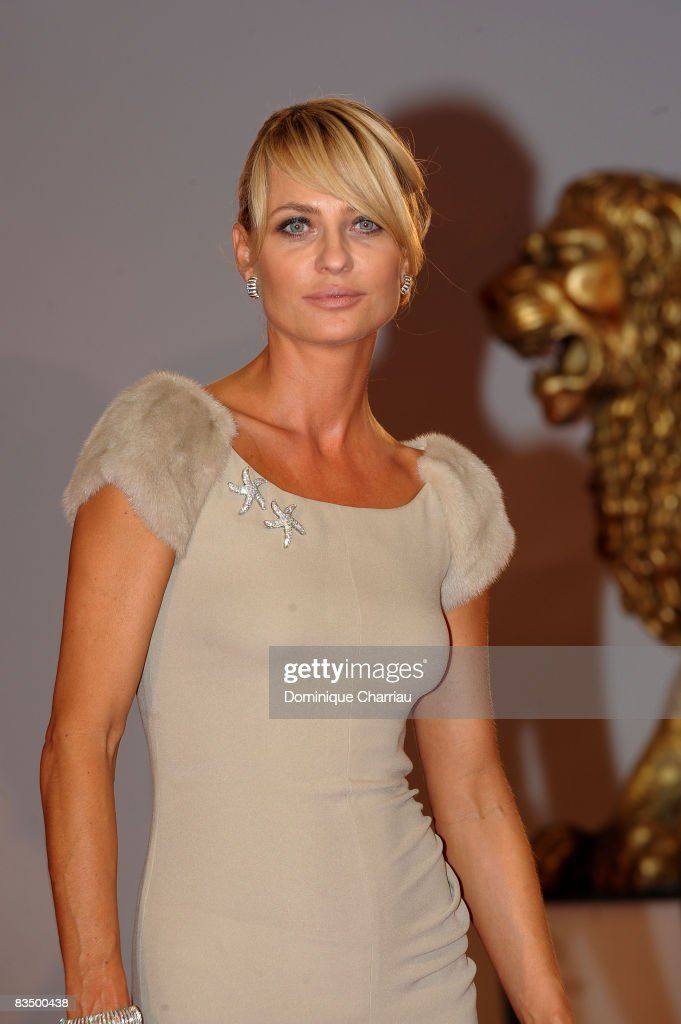 Aneta Kreglicka attends the 'Vegas Based on a True Story' film premiere at the Sala Grande during the 65th Venice Film Festival on September 1, 2008 in Venice, Italy.