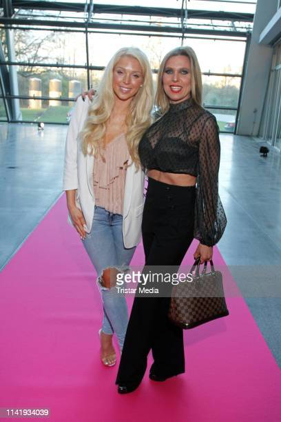 Aneta Sablik and Maja Prinzessin von Hohenzollern attend the opening of the new Europcar mobility group headquarter on April 10 2019 in Hamburg...